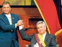 Un año de Lenín Moreno bajo la sombra  del correísmo