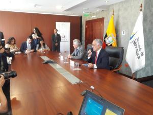 Petroecuador y Petroperú suscriben contrato por primera vez para la compra de crudo