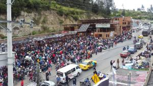 Unos 286.000 venezolanos han cruzado por tierra de Colombia a Ecuador en 2018