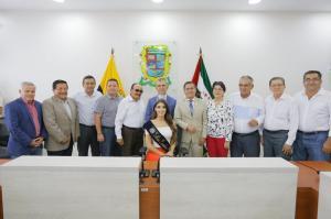 Virginia Limongi en Manabí: Gobierno Provincial le da homenaje a Miss Ecuador 2018