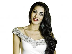 Miss Ecuador, Virginia Limongi recorrerá hoy Portoviejo