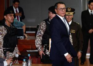 Exvicepresidente Jorge Glas comparece en apelación a condena de prisión