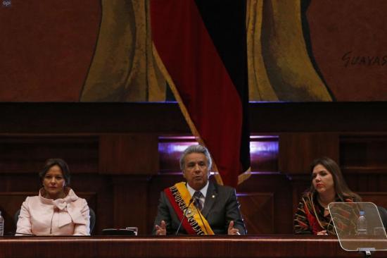 Moreno: ''No quiero ser el mejor presidente de la historia, sino del presente''