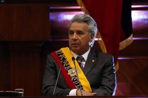 Moreno afirma que su primer año de Gobierno fue para 'poner la casa en orden'