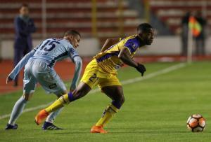 Delfín le dice adiós a Copa Libertadores con una derrota ante Bolivar (2-1)