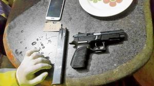 Pistola es clave  en tres crímenes