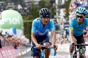 El ecuatoriano Carapaz termina cuarto en el cierre del Giro de Italia