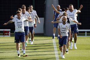 Argentina empezó sus entrenamiento en Barcelona, España