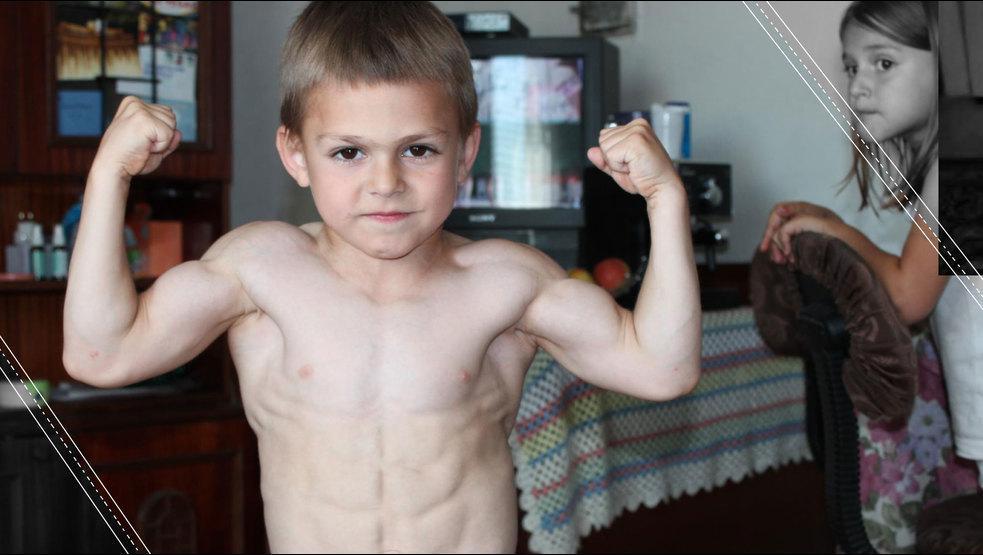 El pequeño Hulk, el niño más fuerte del mundo revoluciona el internet