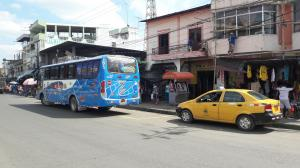 Taxistas inconformes