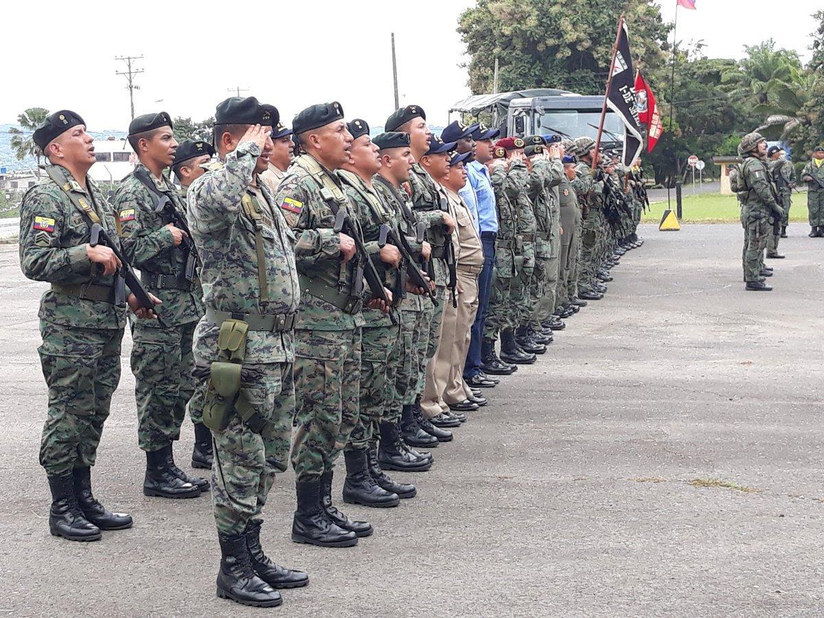 Fuerza de Tarea Conjunta de Ecuador inicia operaciones en la frontera norte