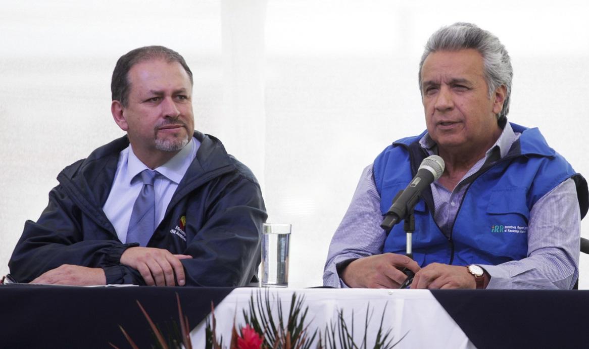 Lenín Moreno nombrará encargado de auditar procesos a medios en mandato de Correa