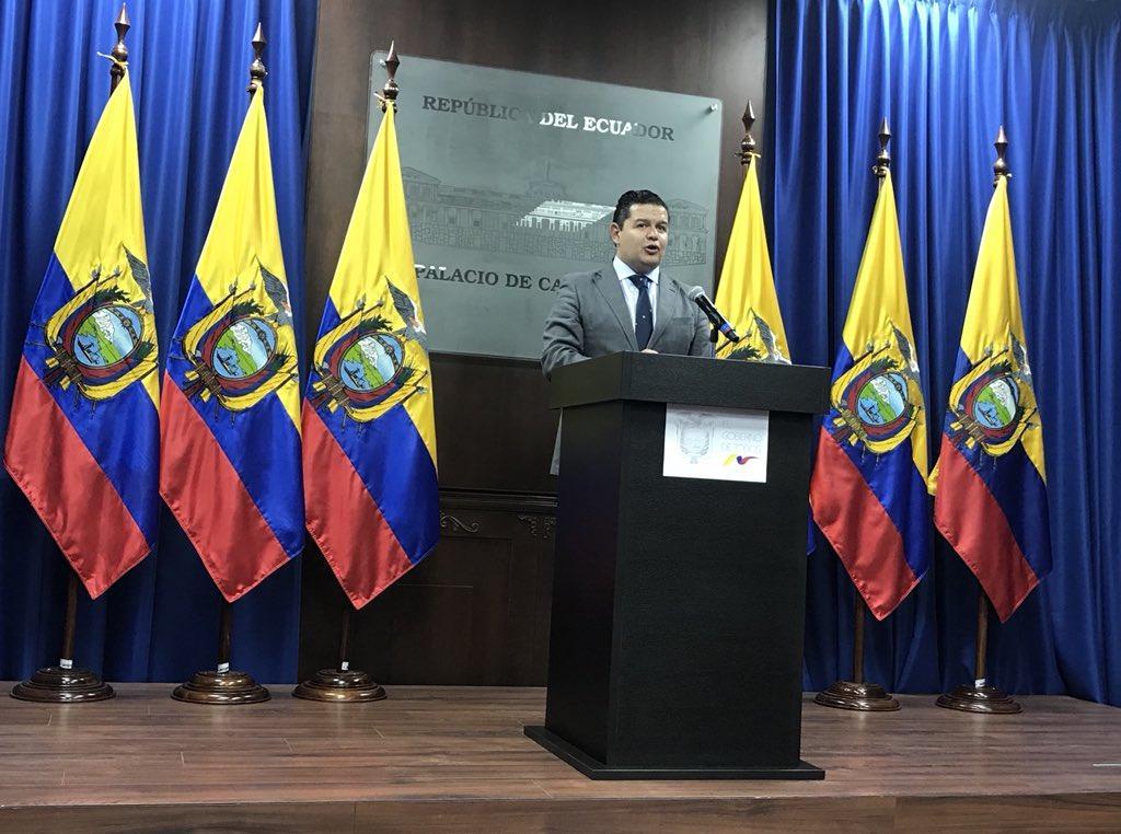 Gobierno ecuatoriano preocupado por pedido de vincular a Correa proceso penal