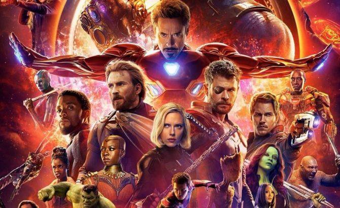 'Infinity War', cuarta película que supera los 2.000 millones en taquilla