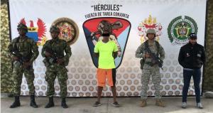Capturan al hermano de alias ''Guacho'',  jefe de disidencia de FARC en Colombia