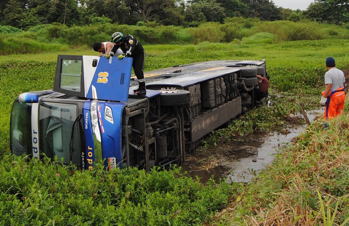 Un accidente de tránsito deja más de 20 heridos en Babahoyo