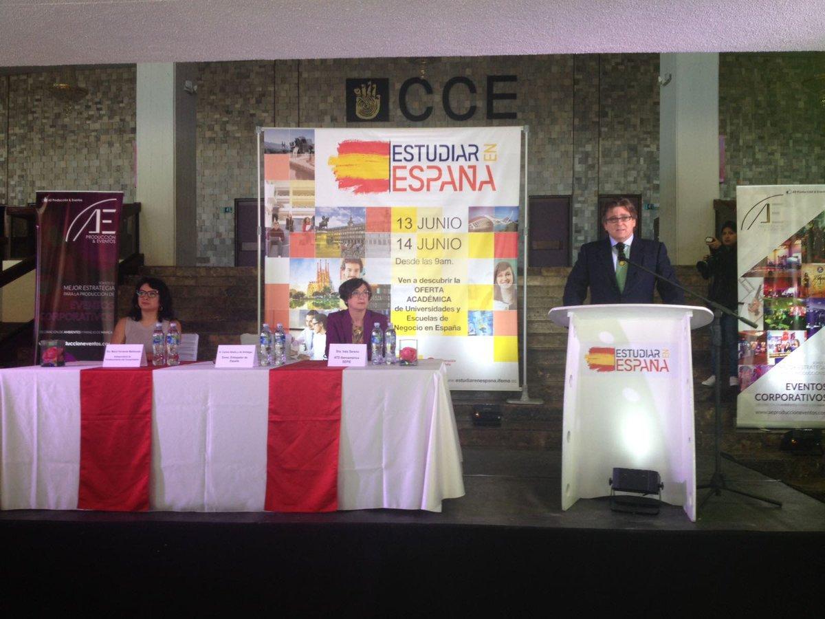 Se inaugura en Quito feria académica que oferta estudios superiores en España