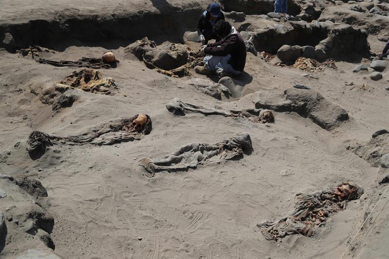 Perú: Nueva excavación encontró 111 niños sacrificados por cultura preinca
