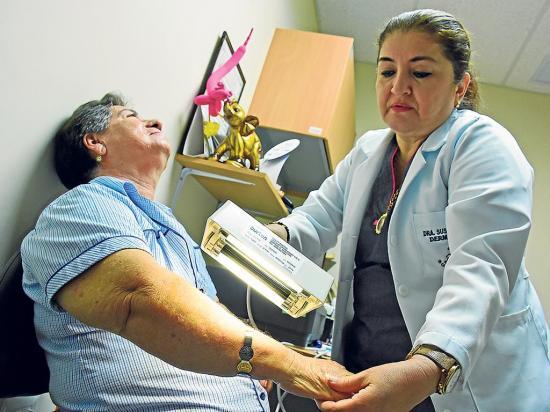 Más de cuarenta nuevos casos de cáncer de piel se registran en tres meses