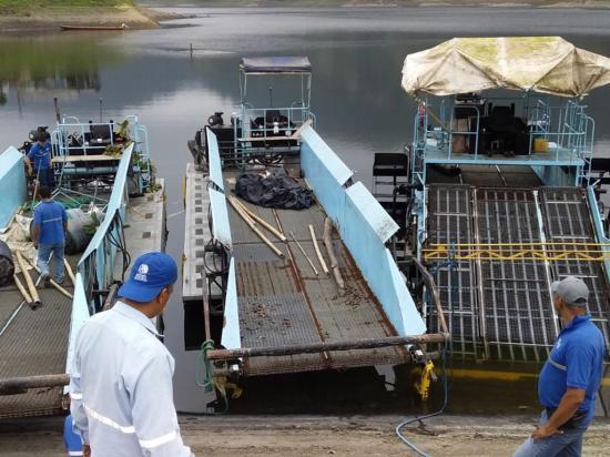 Limpiarán la represa poza honda en 2 meses
