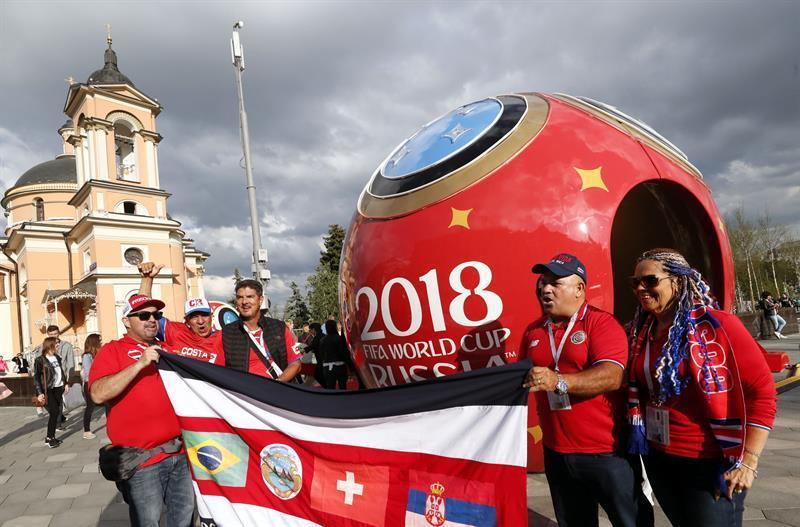 Ya se vive la mayor fiesta del fútbol en Rusia ¡ARRANCÓ EL MUNDIAL!