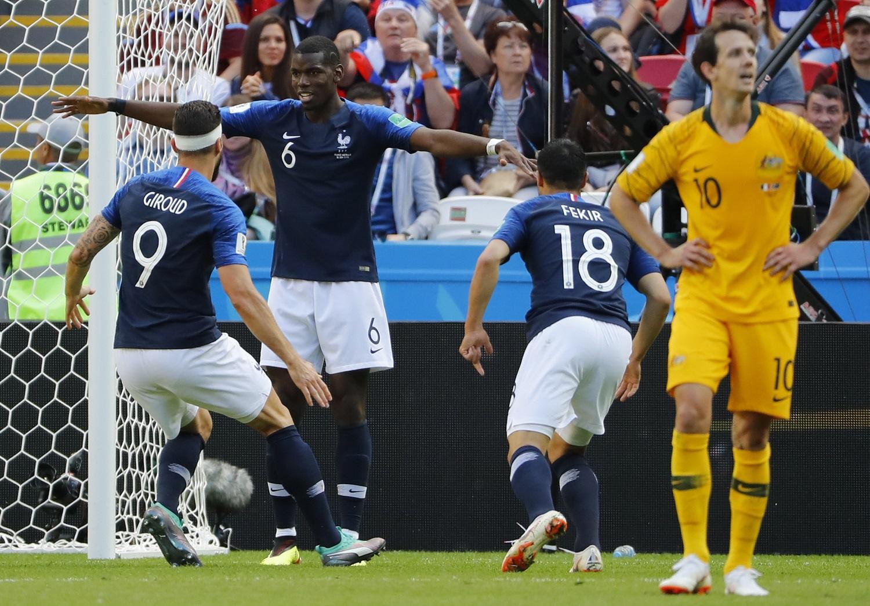 Resultado de imagen para francia gana a australia