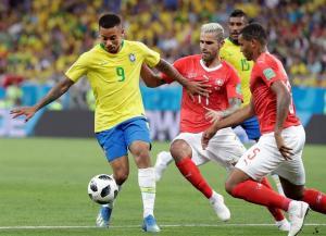 Brasil empata en su debut mundialista con Suiza [1-1]