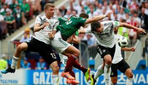 México le canta 'Cielito Lindo' a Alemania y se impone 1 a 0