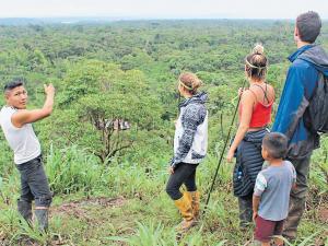 Un encuentro íntimo con la selva