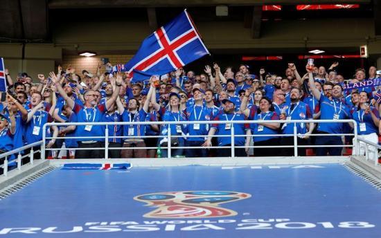 El partido de Argentina-Islandia tuvo audiencia del 99,6 por ciento en el país vikingo