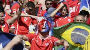 Chilenos, poco interesados en Mundial de Rusia, tienen a Brasil de favorito