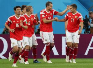 Rusia da un paso de gigante a los octavos ganando 3-1 a Egipto