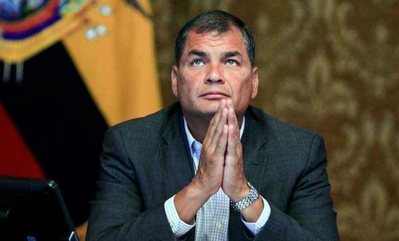 Correa estudia pedir asilo en Bélgica si se ve obligado a volver a Ecuador