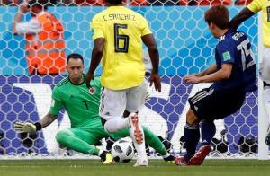 Colombia pierde por primera vez ante Japón en su debut en la Copa del Mundo [2-1]