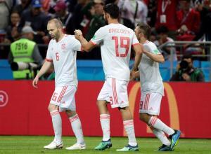 Diego Costa le da el triunfo a España sobre Irán (1-0)