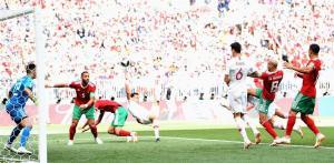 Cristiano Ronaldo asalta a Marruecos [1-0] y pasa a octavos de final