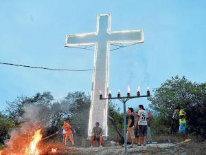 La cruz, una tradición que no se apaga