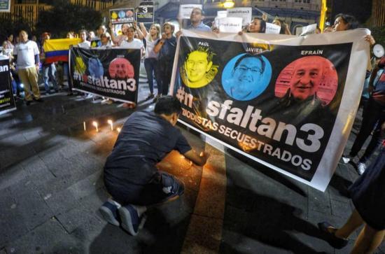 El presidente de Colombia anuncia hallazgo de cuerpos que podrían ser de periodistas de El Comercio