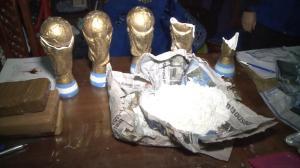 Desarticulan banda en Argentina que transportaba droga en trofeos del Mundial