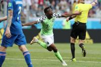 Nigeria gana a Islandia y ofrece esperanza a Argentina