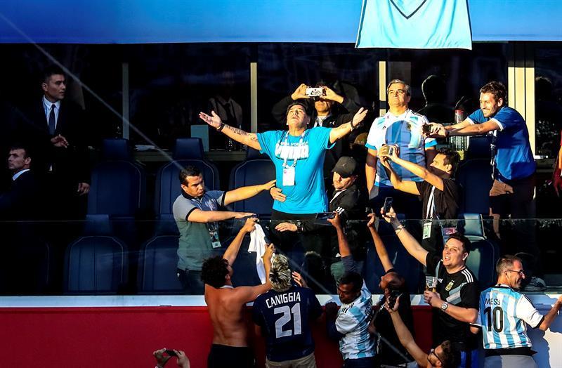 Maradona: ''Ni inyección, ni nada''