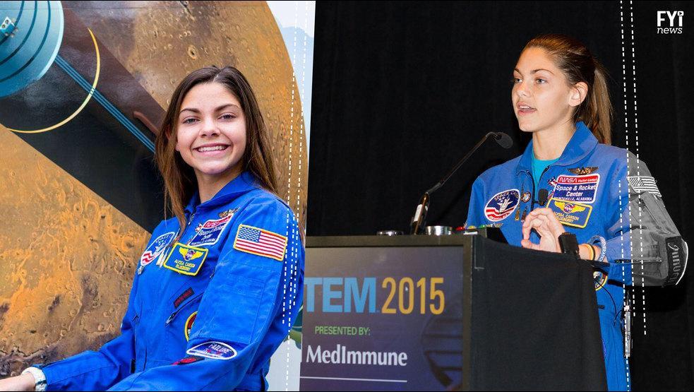 VÍDEO: Tiene 15 años y se alista para ir a Marte en 2033