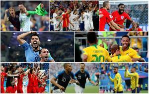 Cuartos de final: Sorpresas y talento; los ocho mejores del Mundo se alistan para el juego
