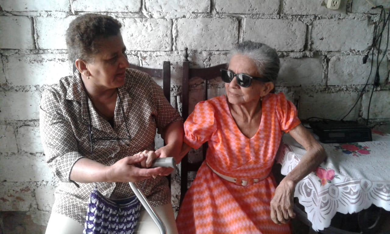 Una abuelita con historia