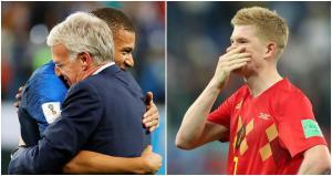 Las dos caras de la moneda: Bélgica llora, mientras que Francia celebra su tercera final