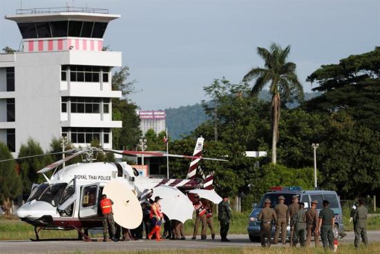 Jóvenes tailandeses rescatados no podrán estar en final por motivos médicos