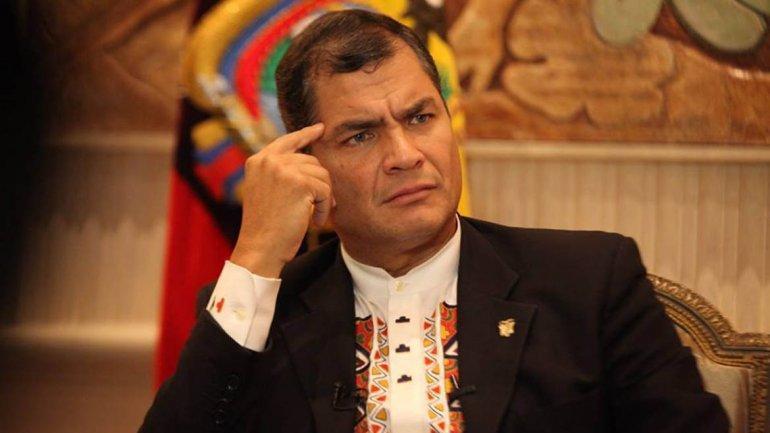Embajada de Ecuador tramitaría extradición de Correa si se refugiara en España