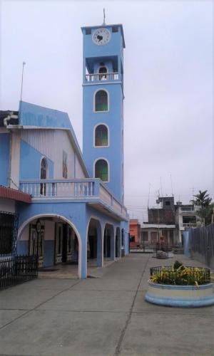 Reloj de la iglesia central no funciona