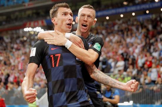 Croacia jugará la final ante Francia luego de ganar 2-1 a Inglaterra