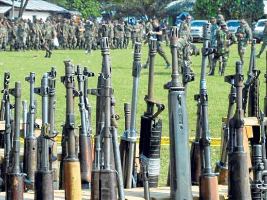 Policía Nacional niega venta de armas al  Frente Oliver Sinisterra